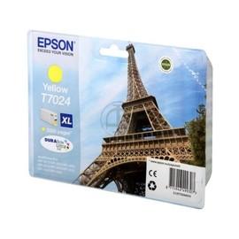 Tintenpatrone T7024 XL für Epson WP4015DN/WP4025DW 2000Seiten gelb Epson T702440 Produktbild