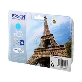 Tintenpatrone T7022XL für Epson WP4015DN/WP4025DW 2000Seiten cyan Epson T702240 Produktbild