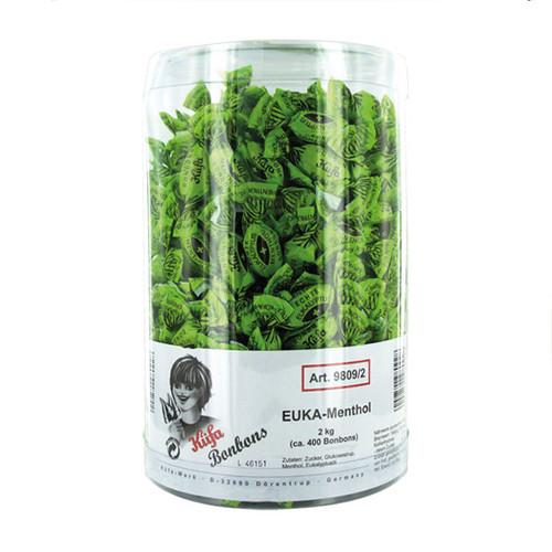 Bonbon Eukalyptus Menthol 98082 (BTL=2 KILOGRAMM) Produktbild Front View L