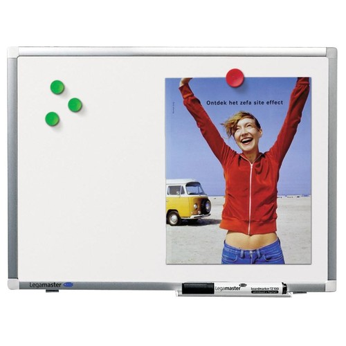 Whiteboard Premium Plus 120x90 cm emailliert Legamaster 7-101054 Produktbild Additional View 3 L