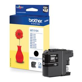Tintenpatrone für DCP-J152/MFC-J245 7,1ml schwarz Brother LC-121BK Produktbild