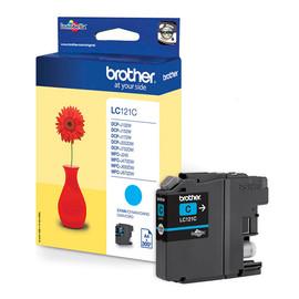 Tintenpatrone für DCP-J152/MFC-J245 3,9ml cyan Brother LC-121C Produktbild
