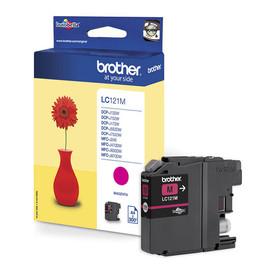 Tintenpatrone für DCP-J152/MFC-J245 3,9ml magenta Brother LC-121M Produktbild