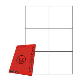 Etiketten Inkjet+Laser+Kopier 105x99mm weiß 5755 (PACK=600 STÜCK) Produktbild