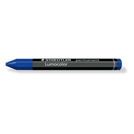 Universalkreide Lumocolor omnigraph 236 blau sechseckig papierumwickelt Staedtler 236-3 Produktbild