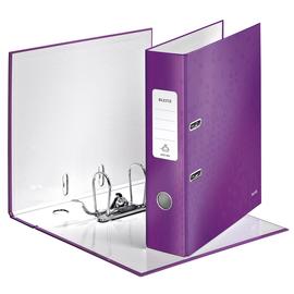 Ordner 180° WOW A4 80mm violett metallic Kunststoff Leitz 1005-00-62 Produktbild