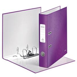 Ordner 180° WOW A4 50mm violett metallic PP Leitz 1006-00-62 Produktbild