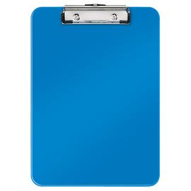 Klemmbrett WOW A4 bis 75Blatt blau metallic Polystyrol Leitz 3971-00-36 Produktbild