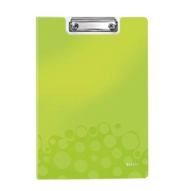 Klemmmappe WOW mit Deckel und Tasche A4 bis 75Blatt grün metallic Polyfoam Leitz 4199-00-64 Produktbild