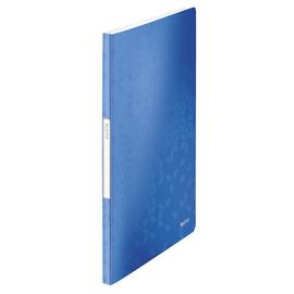 Sichtbuch WOW mit 20 Hüllen A4 blau metallic PP Leitz 4631-00-36 Produktbild