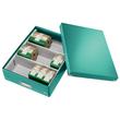 Organisationsbox WOW Click & Store 370x281x100mm mittel eisblau Leitz 6058-00-51 Produktbild Additional View 4 S