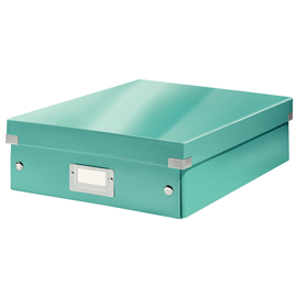 Organisationsbox WOW Click & Store 370x281x100mm mittel eisblau Leitz 6058-00-51 Produktbild
