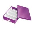 Organisationsbox WOW Click & Store 370x281x100mm mittel violett Leitz 6058-00-62 Produktbild Additional View 1 S