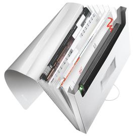 Projektmappe Style mit Gummizug A4 mit 6 Fächern arktik weiß PP Leitz 3957-00-04 Produktbild