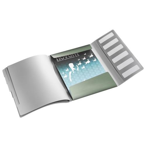 Ordnungsmappe Style mit Gummizug A4 mit 6 Fächern und 3 Klappen seladon grün PP Leitz 3995-00-53 Produktbild Additional View 1 L
