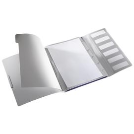 Ordnungsmappe Style mit Gummizug A4 mit 6 Fächern und 3 Klappen titan blau PP Leitz 3995-00-69 Produktbild