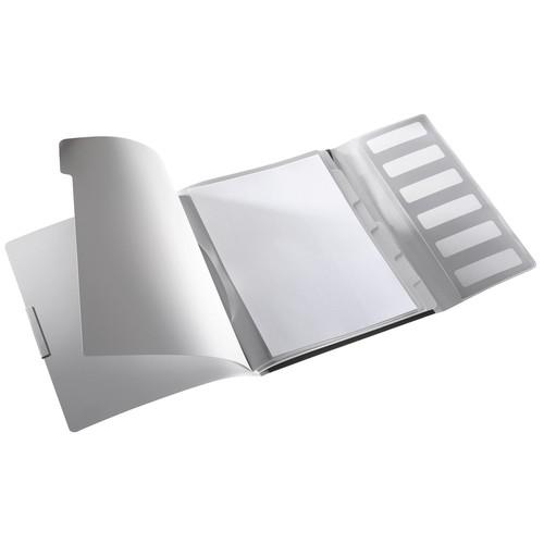 Ordnungsmappe Style mit Gummizug A4 mit 6 Fächern und 3 Klappen satin schwarz PP Leitz 3995-00-94 Produktbild