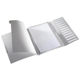 Ordnungsmappe Style mit Gummizug A4 mit 12 Fächern und 3 Klappen arktik weiß PP Leitz 3996-00-04 Produktbild