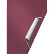 Ordnungsmappe Style mit Gummizug A4 mit 12 Fächern und 3 Klappen granat rot PP Leitz 3996-00-28 Produktbild Additional View 2 S