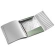 Ordnungsmappe Style mit Gummizug A4 mit 12 Fächern und 3 Klappen seladon grün PP Leitz 3996-00-53 Produktbild Additional View 1 S