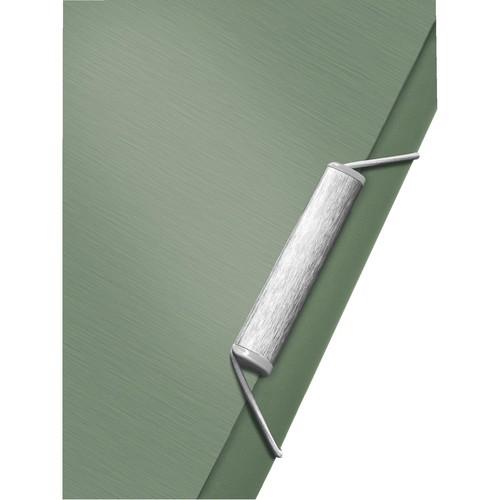 Ordnungsmappe Style mit Gummizug A4 mit 12 Fächern und 3 Klappen seladon grün PP Leitz 3996-00-53 Produktbild Additional View 2 L