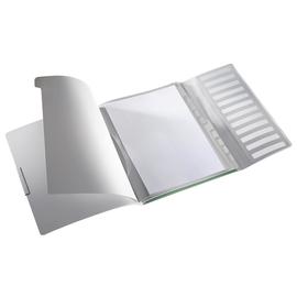 Ordnungsmappe Style mit Gummizug A4 mit 12 Fächern und 3 Klappen seladon grün PP Leitz 3996-00-53 Produktbild