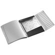 Ordnungsmappe Style mit Gummizug A4 mit 12 Fächern und 3 Klappen satin schwarz PP Leitz 3996-00-94 Produktbild Additional View 1 S