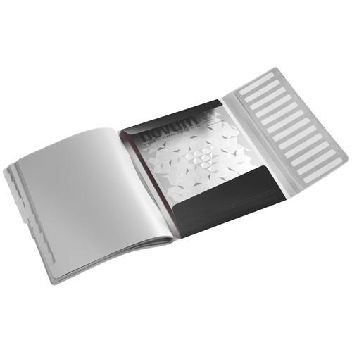 Ordnungsmappe Style mit Gummizug A4 mit 12 Fächern und 3 Klappen satin schwarz PP Leitz 3996-00-94 Produktbild Additional View 1 L