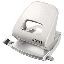 Locher NeXXt Style 5006 bis 30Blatt arktis weiß Metall Leitz 5006-00-04 Produktbild