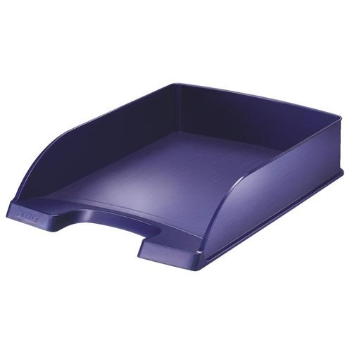 Briefkorb Style für A4 255x70x357mm titan blau kunststoff Leitz 5254-00-69 Produktbild Front View L
