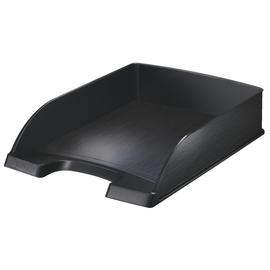 Briefkorb Style für A4 255x70x357mm satin schwarz kunststoff Leitz 5254-00-94 Produktbild