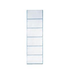 Beschriftungsschildchen auf Streifen ohne Lochrand Orgacolor 73x40mm weiß Leitz 6640-00-00 (PACK=120 STÜCK) Produktbild