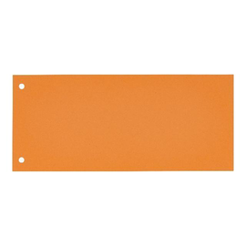 Trennstreifen Oxford 24x10,5cm orange 190g Karton 100421026 (PACK=100 STÜCK) Produktbild