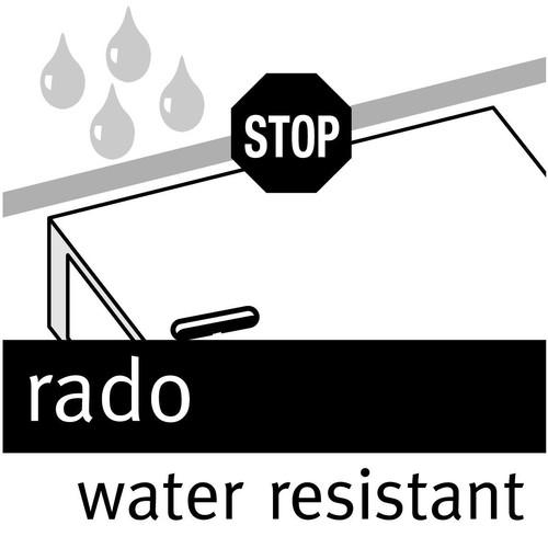 Ordner Rado Plast A5 hoch 80mm schwarz Kunststoff Elba 100022641 Produktbild Additional View 2 L