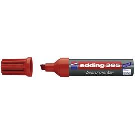 Whiteboardmarker 365 2-7mm Keilspitze rot trocken abwischbar Edding 4-365002 Produktbild