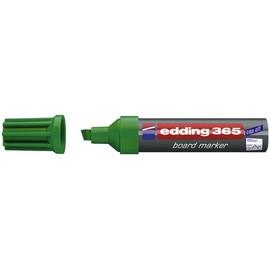 Whiteboardmarker 365 2-7mm Keilspitze grün trocken abwischbar Edding 4-365004 Produktbild