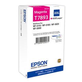 Tintenpatrone T7893XXL für Epson Workforce Pro WF 4630 DWF 34,2ml magenta Epson T789340 Produktbild