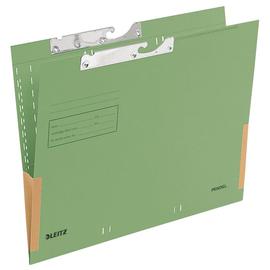 Pendeltasche mit Schlitzstanzung 320g grün Manila-Karton Leitz 2016-00-55 Produktbild