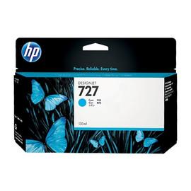 Tintenpatrone 727 für HP DesignJet T1500 130ml cyan HP B3P19A Produktbild