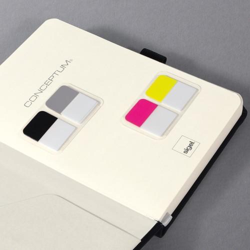 Haftmarker CONCEPTUM Streifen 20x26mm farbig sortiert Sigel CO100 (PACK=30 STÜCK) Produktbild Additional View 4 L