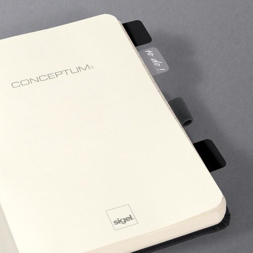 Haftmarker CONCEPTUM Streifen 20x26mm farbig sortiert Sigel CO100 (PACK=30 STÜCK) Produktbild Additional View 6 L