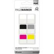 Haftmarker CONCEPTUM Streifen 20x26mm farbig sortiert Sigel CO100 (PACK=30 STÜCK) Produktbild
