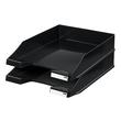 Briefkorb Standard für A4 243x57x335mm schwarz Kunststoff HAN 1027-X-13 Produktbild Additional View 1 S