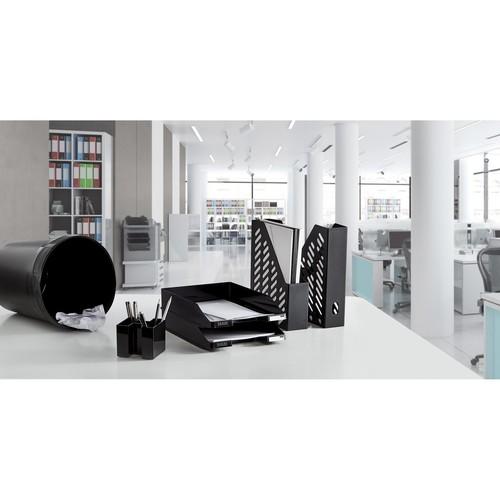 Briefkorb Standard für A4 243x57x335mm schwarz Kunststoff HAN 1027-X-13 Produktbild Additional View 3 L