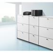 Briefkorb Standard für A4 243x57x335mm schwarz Kunststoff HAN 1027-X-13 Produktbild Additional View 4 S