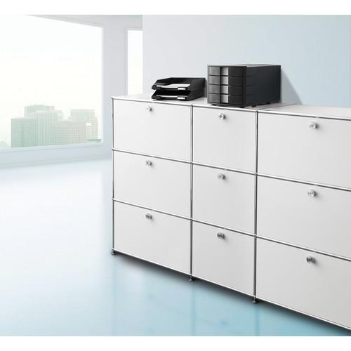Briefkorb Standard für A4 243x57x335mm schwarz Kunststoff HAN 1027-X-13 Produktbild Additional View 4 L