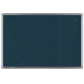 Textil-Pinnwand UNIVERSAL mit Aluminiumrahmen 120x90cm grau Legamaster 7-141954 Produktbild