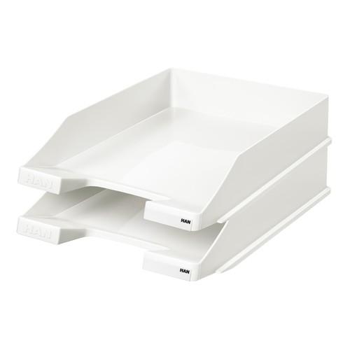 Briefkorb Standard für A4 243x57x335mm weiß Kunststoff HAN 1027-X-12 Produktbild Additional View 1 L