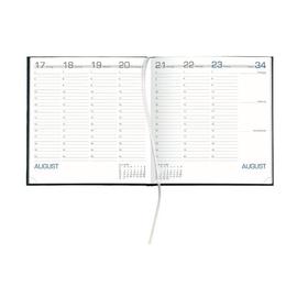 Wochenbuch 2021 21x21cm 1Woche/2Seiten anthrazit Zettler 786-0021 Produktbild