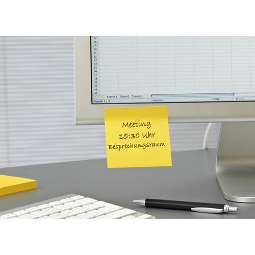 Haftnotizen Post-it Super Sticky Notes 76x76mm lindgrün Papier 3M 6546SA (ST=90 BLATT) Produktbild
